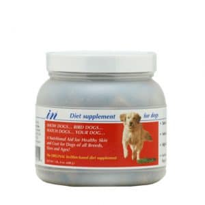 In Diet Supplement For Dogs_red