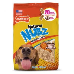 Nylabone Nubz Natural Edible Dog Chews