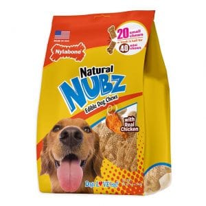 Nylabone Nubz Natural Edible Dog ChewsNylabone Nubz Natural Edible Dog Chews