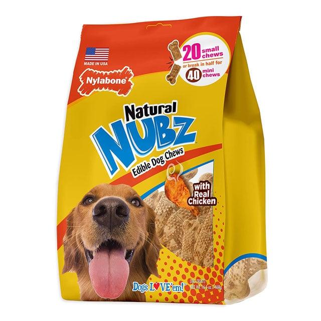Nylabone Nubz Natural Edible Dog ChewsNylabone Nubz Natural Edible Dog Chews