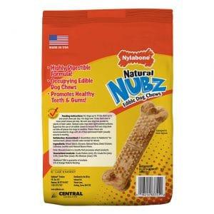Nylabone Nubz Natural Edible Dog Chews