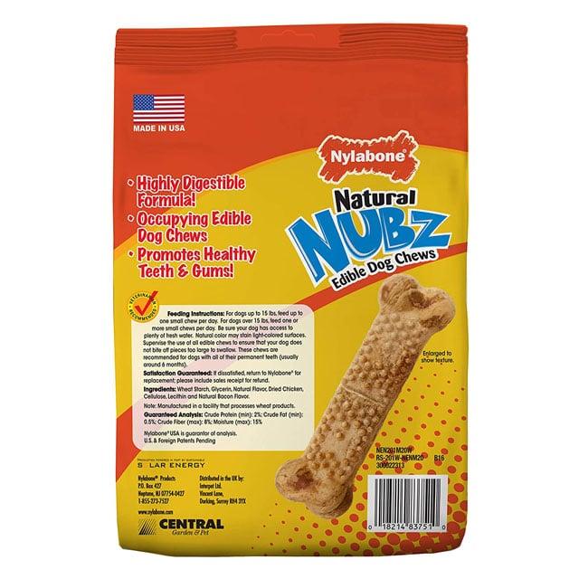Nylabone Nubz Natural Edible Dog Chews_2
