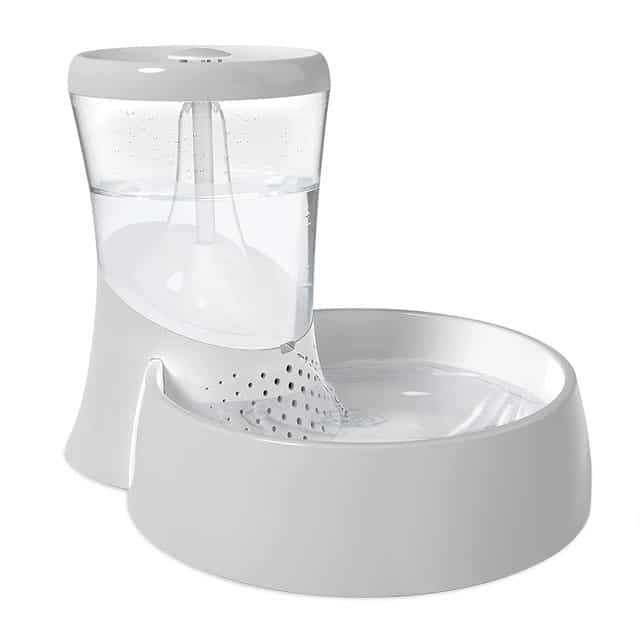 Petmate Fresh Flow Rain Battery Fountain for Cats and Dogs