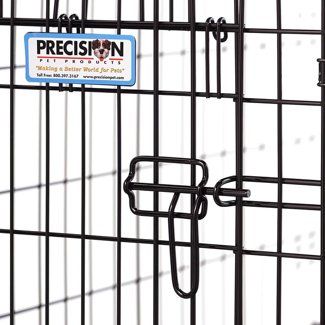 Precision Pet Provalu 1-Door Collapsible Wire Dog Crate_2