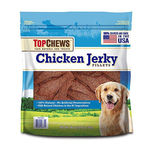 Top Chews Chicken Jerky