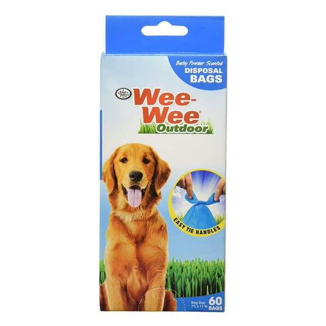 Four Paws Wee-Wee Outdoor 60 Bags
