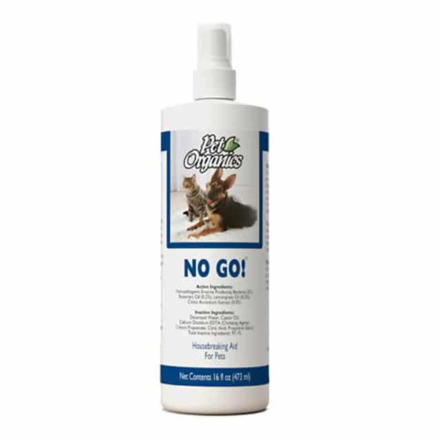 NaturVet Pet Organics No Go! House Breaking Aid for Dogs & Cats 16oz