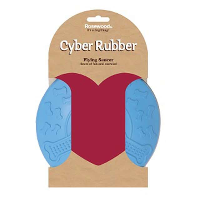 Rosewood Cyber Rubber Flying Saucer