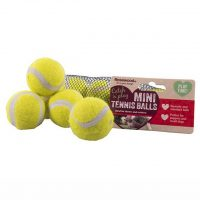 Rosewood Mini Assorted Tennis Balls 5 Pack