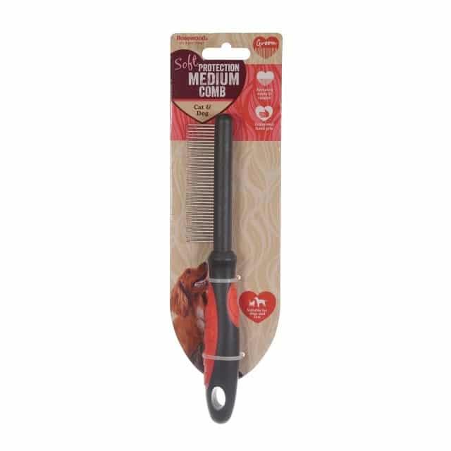 Rosewood Soft Protection Medium Comb