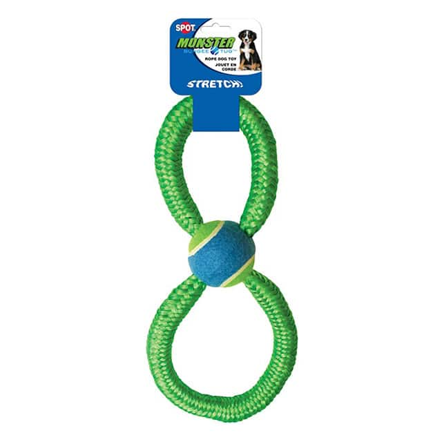 Spot Figure 8 Monster Bungee with Tennis Ball
