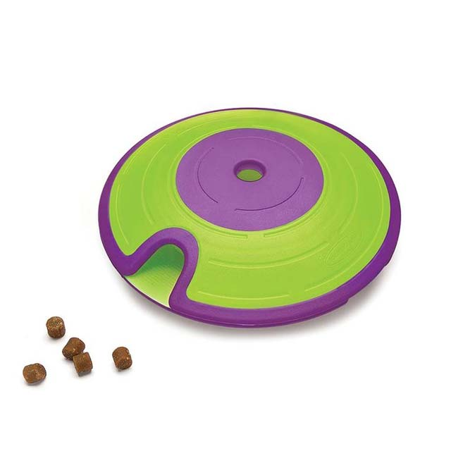 Outward Hound (Nina Ottosson) Treat Maze – Interactive Dog Toy (Level 2)_3