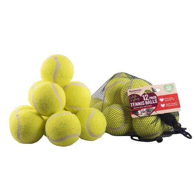 Rosewood 12 Standard Tennis Balls
