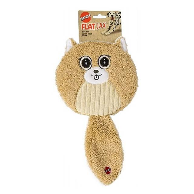 Spot Flat Jax Squeak Dog Toy_3