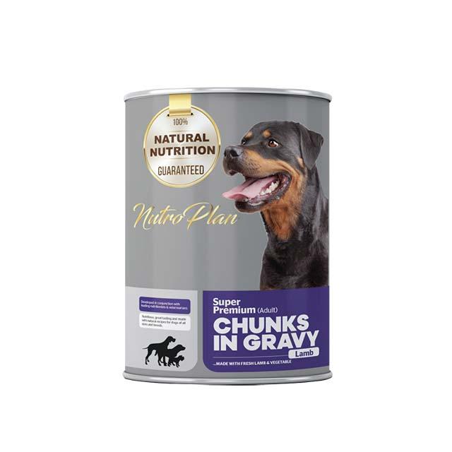Nutroplan Lamb Chunks In Gravy Adult
