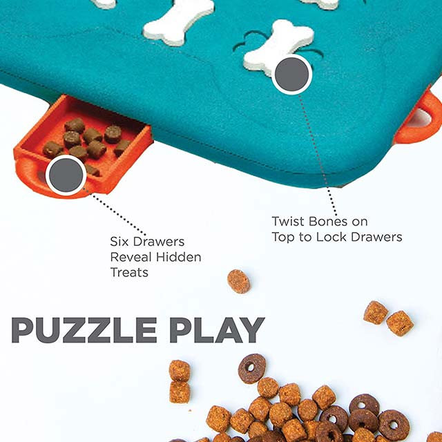 Outward Hound Nina Ottosson Dog Casino Advanced Puzzle Toy_4