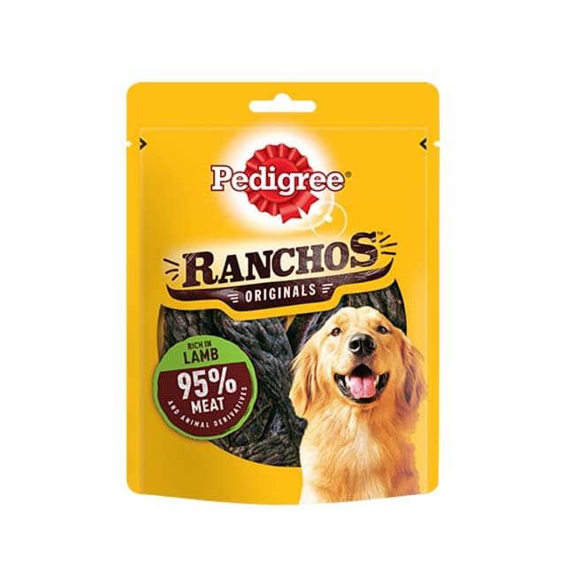 Pedigree Ranchos Dog Treats with Lamb