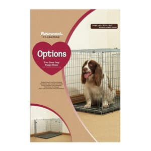 Rosewood Options Two Door Puppy - Large