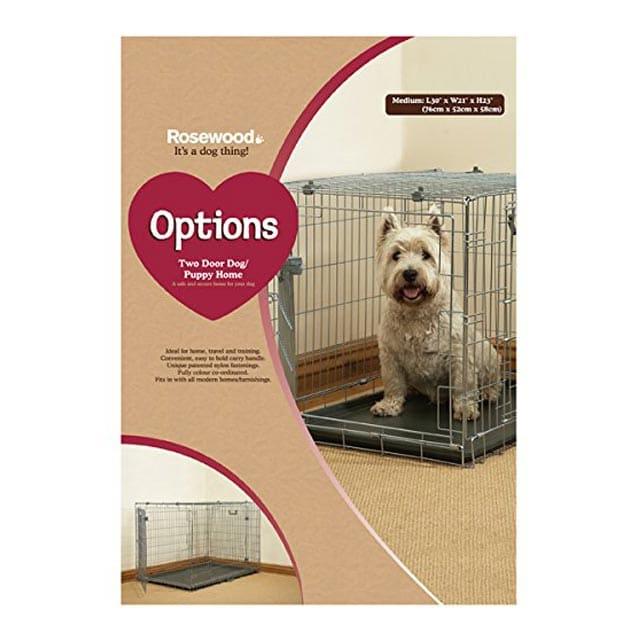 Rosewood Options Two Door Puppy - Medium