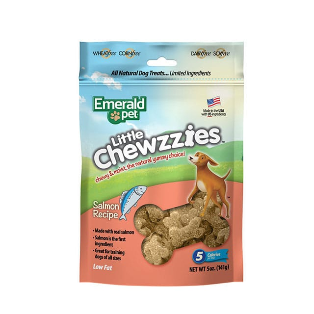 Emerald Pet Little Chewzzies Salmon Recipe