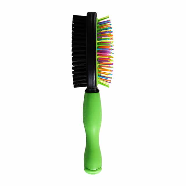 Wags & Wiggles Large Dual Sided Bristle & Straight Pin Brush