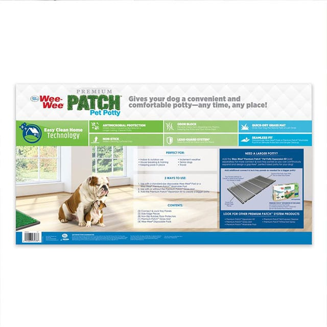 Four Paws Wee-Wee Premium Patch Indoor and Outdoor Pet Potty_1